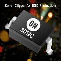 ESD Protection Diode, Bi-directional, SOD-323 Image
