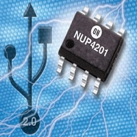 Transient Voltage Suppressor, Low Capacitance, for High Speed Data Interfaces Image