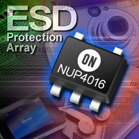 ESD Protection Array, Ultra Low Capacitance, for High Speed Data Lines Image