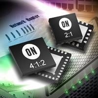 ON Semiconductor Introduces New Clock and Data Multiplexer Devices Optimized for High Speed, Low Power Designs