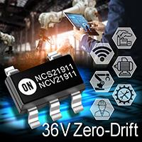 Precision Operational Amplifier, 2 MHz Bandwidth, Low Noise, Zero-Drift, 25 µV Offset