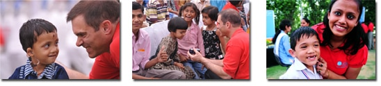 Starkey Hearing Foundation - Canada and India - photos